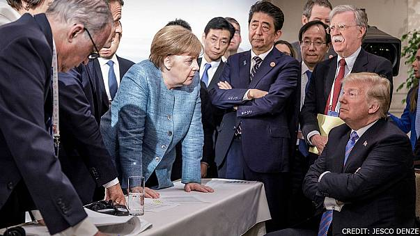 G7 leaders in Canada