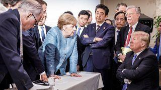 Avrupa ülkelerinden Trump'a G7 resti