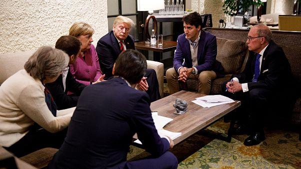 Cimeira do G7 termina em fiasco