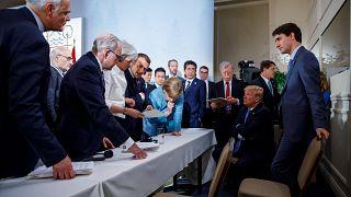 Заявление G7 без подписи США
