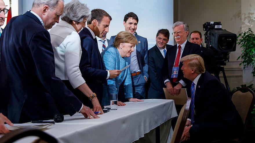 بسبب ترودو .. ترامب يرفض التوقيع على بيان قمة السبع الكبار