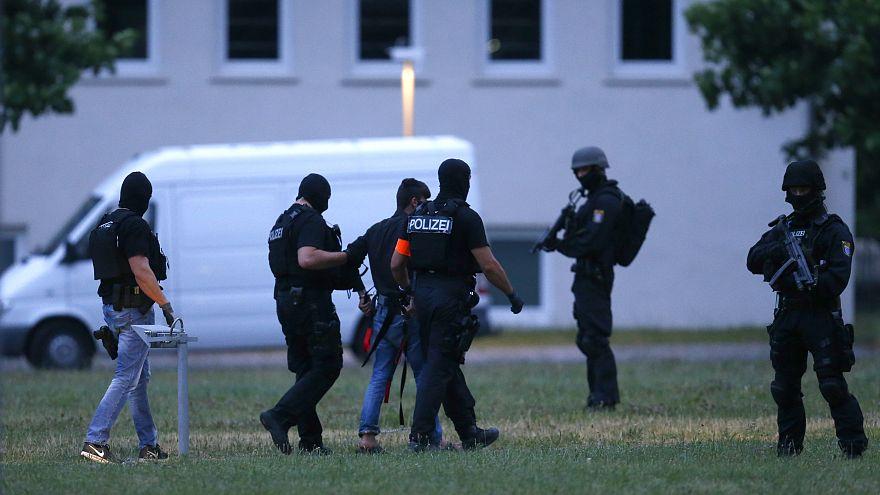 Подозреваемый мигрант доставлен в полицию