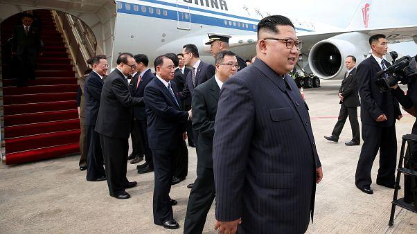 Kim vor Trump in Singapur