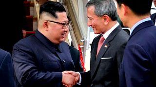 Kim Jong-un já está em Singapura