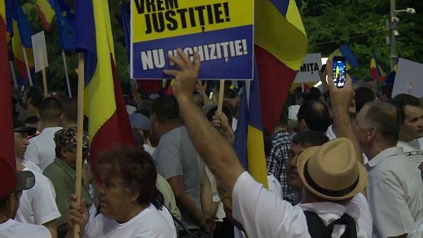Rumäniens Regierung organisiert Massenprotest gegen die Justiz
