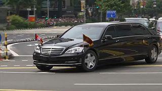 Singapore: arrivati Trump e Kim Jong-Un