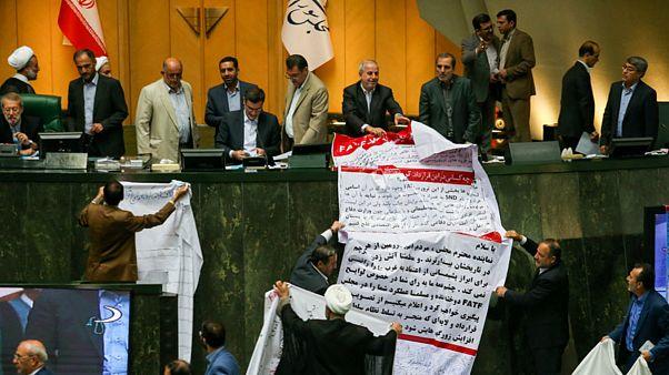 مجلس ایران الحاق به کنوانسیون مبارزه با تامین مالی تروریسم را تعلیق کرد