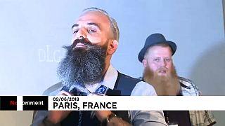 Parigi, ecco il campionato mondiale delle barbe