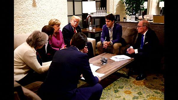 من اجتماع زعماء الدول السبع
