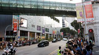 Ким и Трамп прибыли в Сингапур