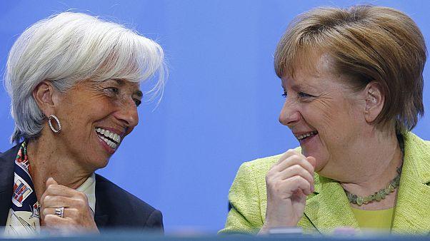 Το ελληνικό χρέος στη συνάντηση Μέρκελ - Λαγκάρντ