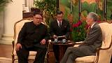 Trump y Kim aterrizan en Singapur para tratar la desnuclearización de Corea del Norte