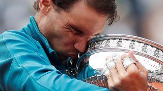 Rafael Nadal não dá hipóteses em Roland-Garros