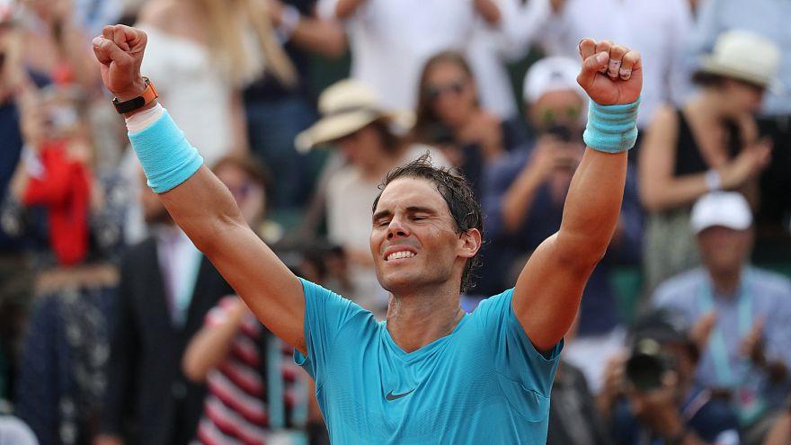 Rafael Nadal nyerte a Roland Garrost