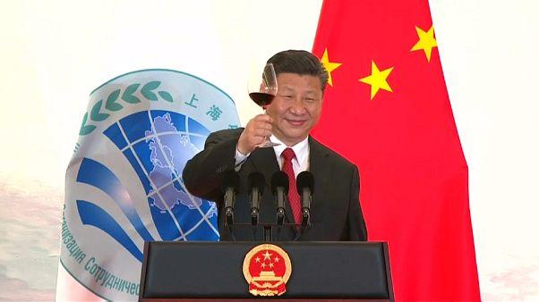 China y Rusia sacan pecho frente a un fracturado G7 en la Organización de Cooperación de Shangai