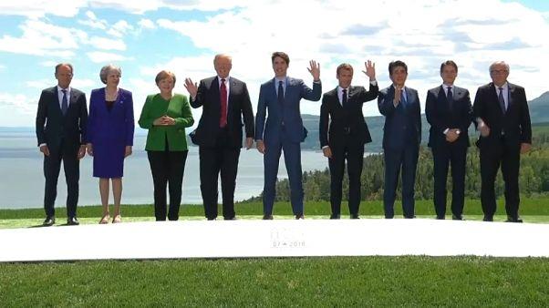 Los líderes del G7 ignoran a Trump