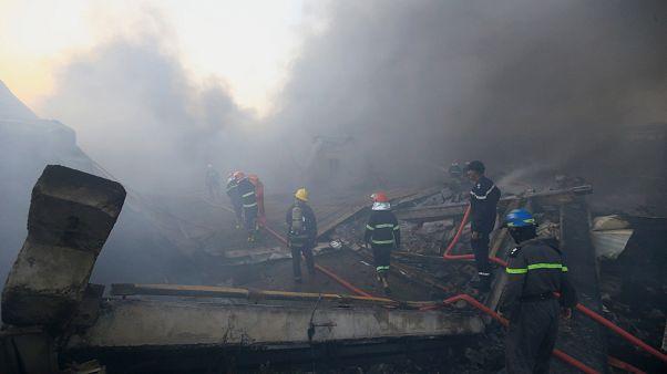 Bagdad: Lagerhalle mit Stimmzetteln brennt