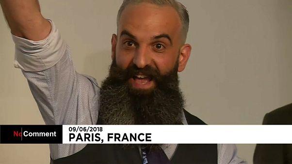 Election de Mister barbe