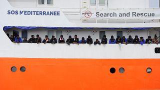 Το euronews στο πλοίο Aquarius