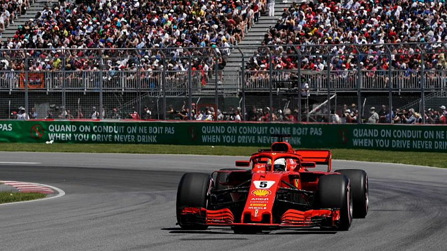 Vettel cracks Canada and ends Hamilton's dominance at the Gilles Villeneuve circuit