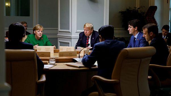 مرکل توئیت ترامپ در رد بیانیه گروه ۷ را «دلسرد کننده» خواند