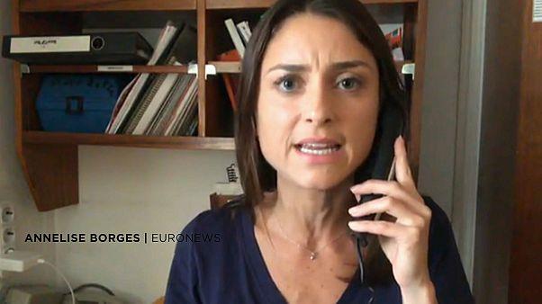 """Repórter da Euronews conta situação a bordo do """"Aquarius"""""""