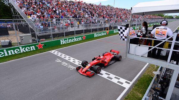 F1 : Vettel s'impose à Montréal