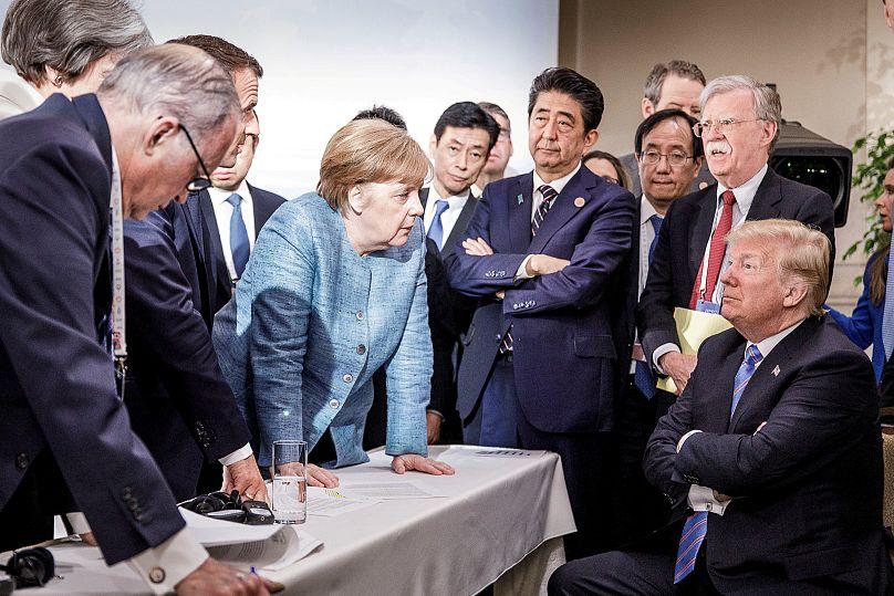 Bundesregierung/Jesco Denzel/Handout via REUTERS