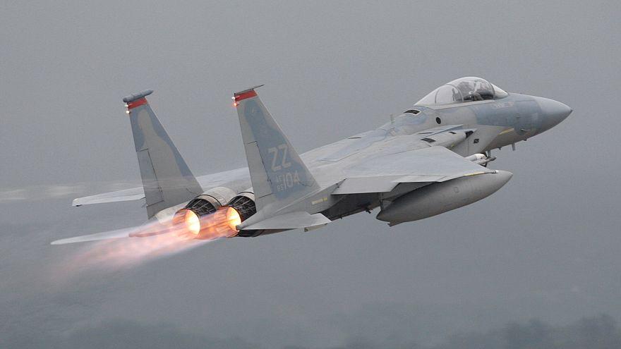 تحطم طائرة أمريكية من طراز إف-15 قبالة أوكيناوا باليابان