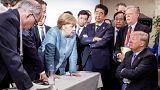 Μέρκελ: «Απογοητευτική και κάπως θλιβερή η στάση του Τραμπ στην G7»