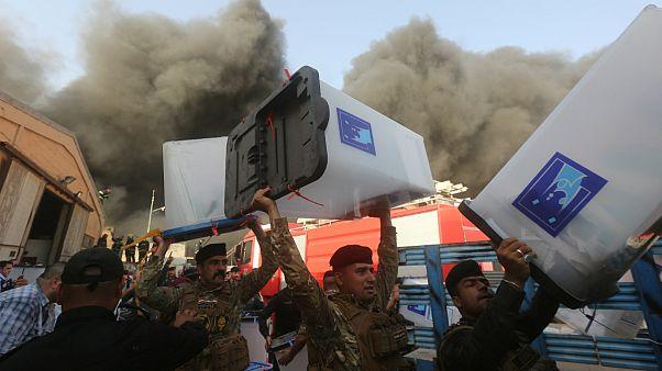 نخست وزیر عراق: آتشسوزی انبار صندوقهای رای توطئه است