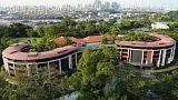 شاهد: جزيرة سانتوزا في سنغافورة تستعد لاستضافة قمة كيم وترامب