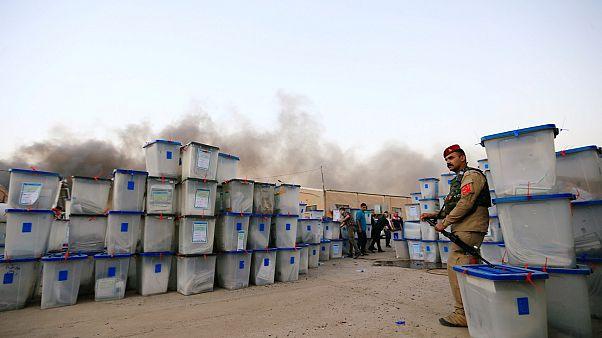 Ιράκ: Πυρκαγιά σε αποθήκη με κάλπες