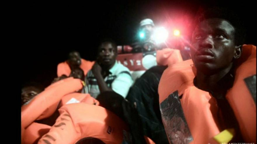 Aquarius migrant ship drifts in Med as Italy and Malta close doors