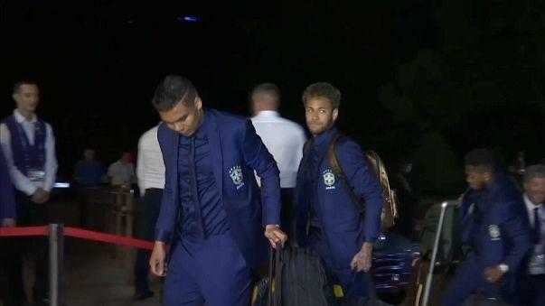 Football hopefuls arrive in Russia ahead of World Cup 2018