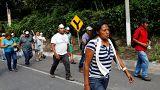 Eufemia García va con los rescatistas a San Miguel Los Lotes