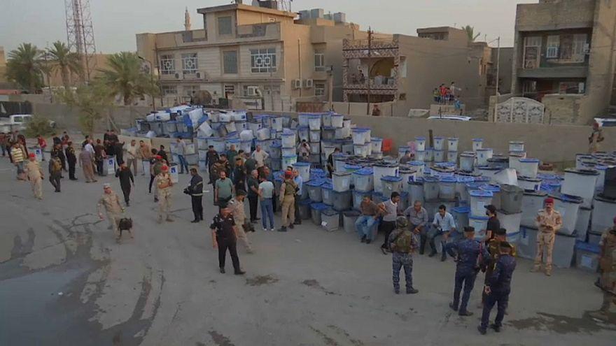 Incêndio em armazéns de urnas eleitorais no Iraque