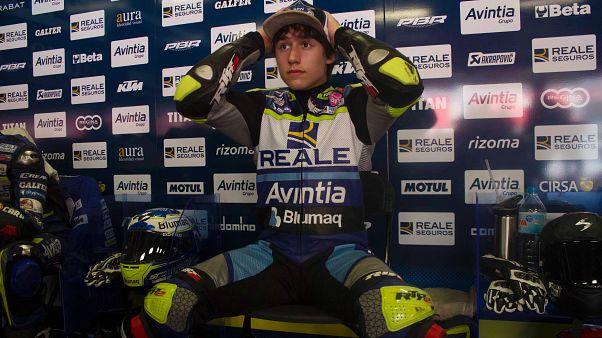 Muere el piloto de 14 años Andreas Pérez tras su accidente en Montmeló