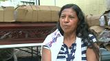 Eufemia Garcia, sopravvissuta all'eruzione del vulcano Fuego