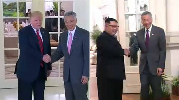 Trump and Kim prepare for summit