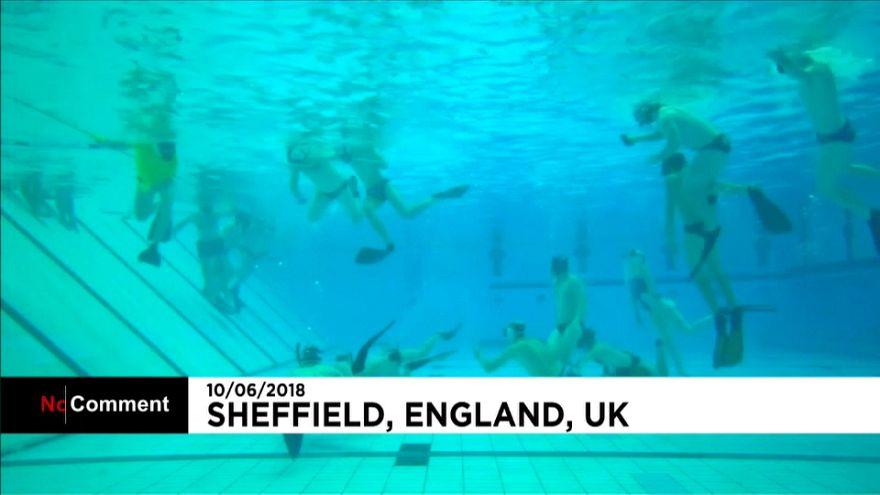 Hockey bajo el agua