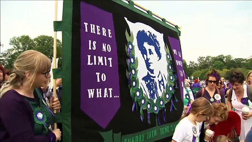 100 Jahre Frauenwahlrecht in Großbritannien