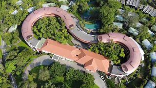 ویدئویی از هتل محل دیدار ترامپ و کیم در سنگاپور