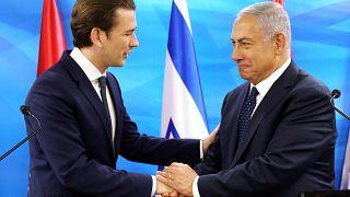 Kurz in Israel: Besuch im Zeichen der Annäherung