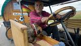 Dünya Kupası'na traktörle yolculuk