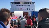 España acogerá al barco 'Aquarius' en Valencia por razones humanitarias
