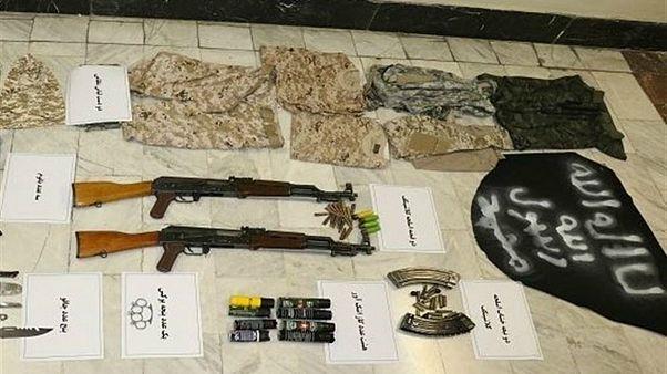 مهمات کشف شده از گروه «تروریستی» در ایران
