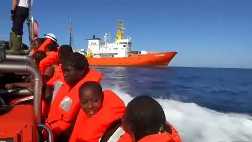 Migrant ship drama - a test for Italy and Spain