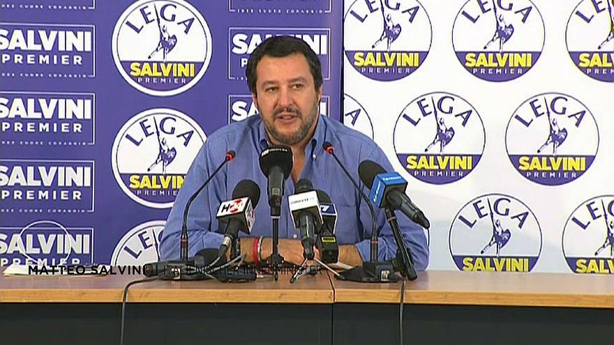 """Salvini: """"Erstes wichtiges Zeichen"""""""