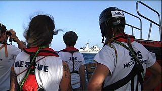"""SOS Méditerranée: """"Italia no puede hacer todo el trabajo"""""""